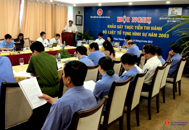 Khảo sát thực tiễn thi hành Bộ luật Tố tụng hình sự tại Thừa Thiên Huế (Ảnh minh họa)